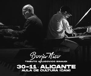 Concierto de Borja Niso en el Aula de Cultura Alicante