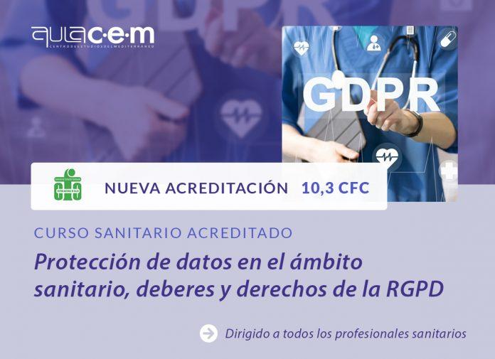 Curso protección de datos RGPD Sanidad
