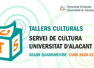 Talleres UA segundo cuatrimestre 2020-2021