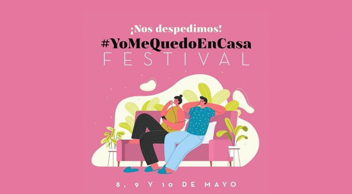 #yomequedoencasa festival 8-10 mayo